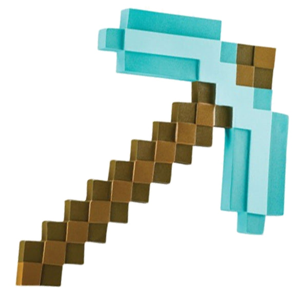 View 1 of Minecraft Diamond Pickaxe Roleplay Toy photo.