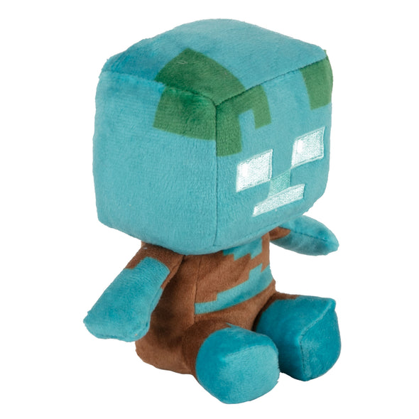 View 1 of Minecraft Mini Crafter Drowned Plush photo.