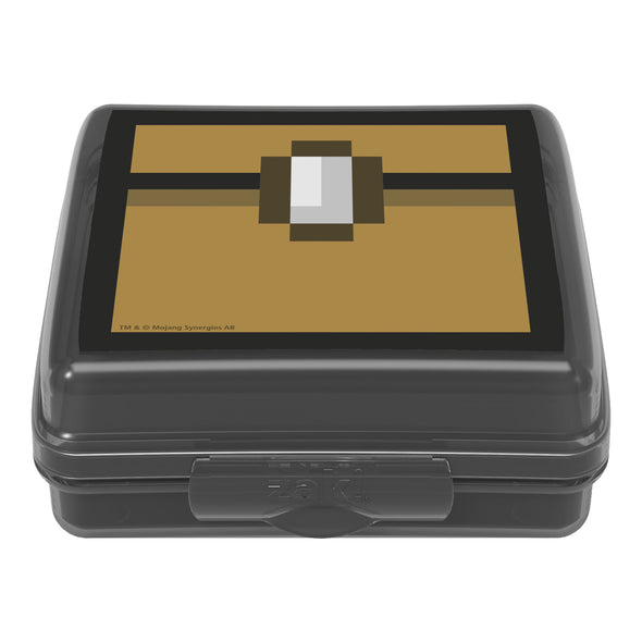 View 3 of Minecraft Chest Hinged Food Container photo.