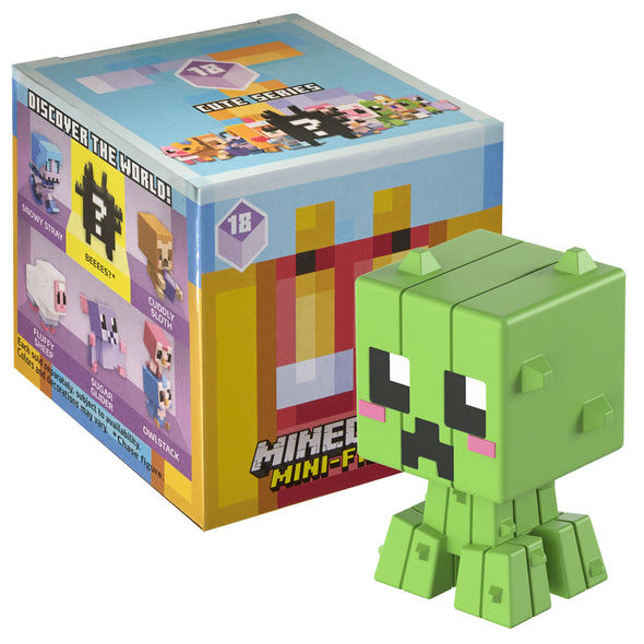 View 1 of Minecraft Cute Series 18 Mini-Figure Blind Box photo.