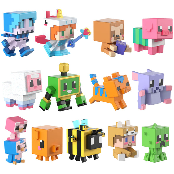 View 2 of Minecraft Cute Series 18 Mini-Figure Blind Box photo.