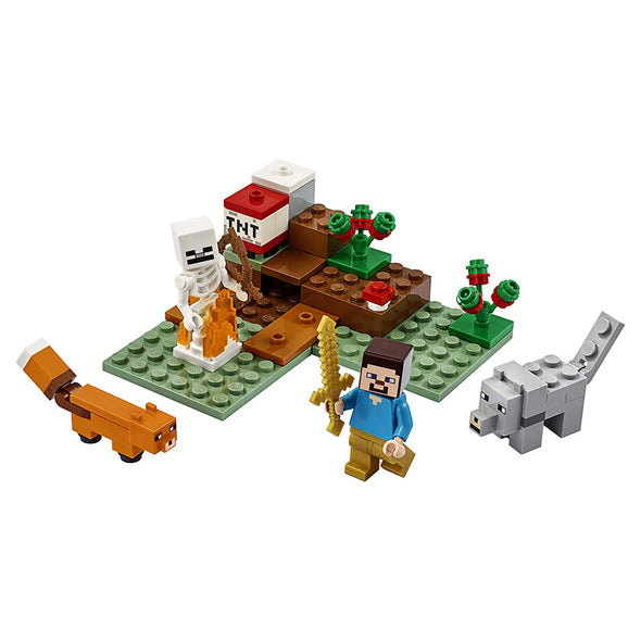 View 1 of Minecraft The Taiga Adventure LEGO Building Set photo.