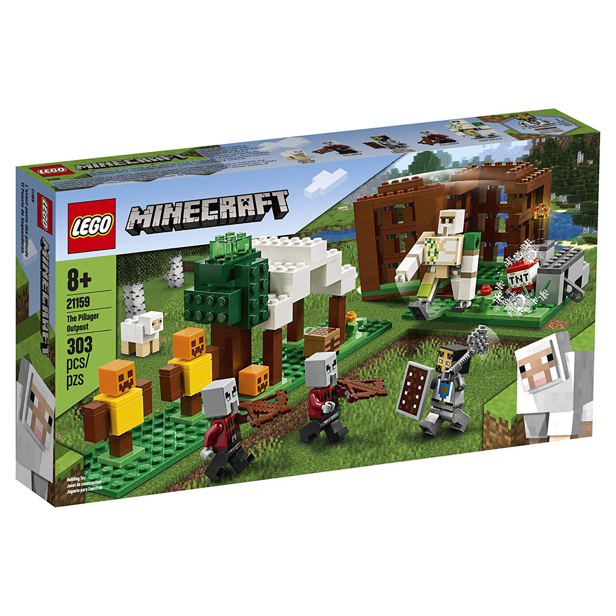 Minecraft The Pillager Outpost LEGO Building Set – Official
