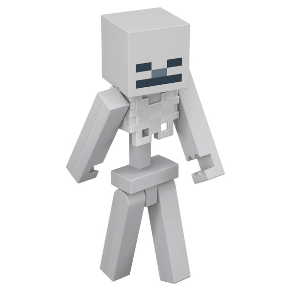 View 1 of Minecraft Skeleton Large Scale Action Figure photo.