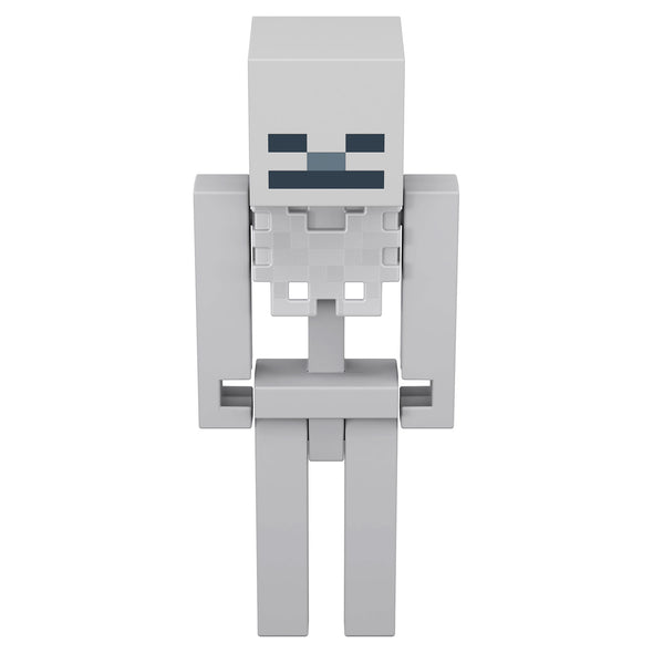 View 2 of Minecraft Skeleton Large Scale Action Figure photo.