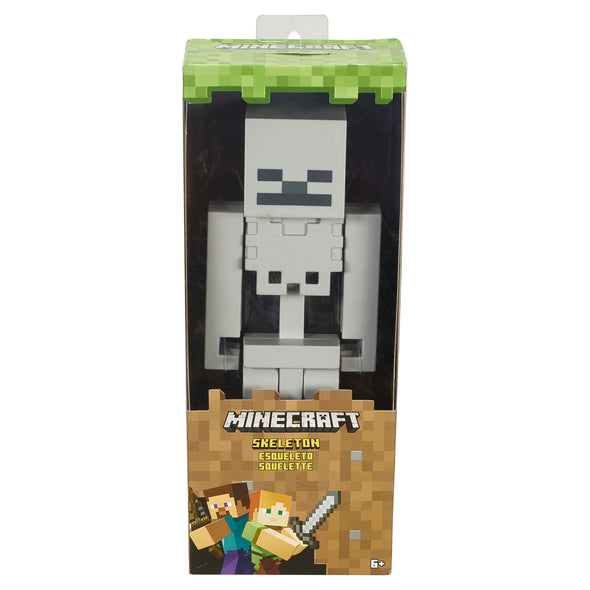 View 5 of Minecraft Skeleton Large Scale Action Figure photo.