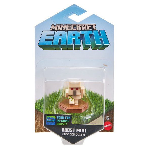 View 5 of Minecraft Earth Enraged Golem Boost Mini Figure photo.