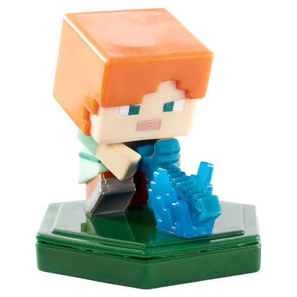 View 1 of Minecraft Earth Attacking Alex Boost Mini Figure photo.