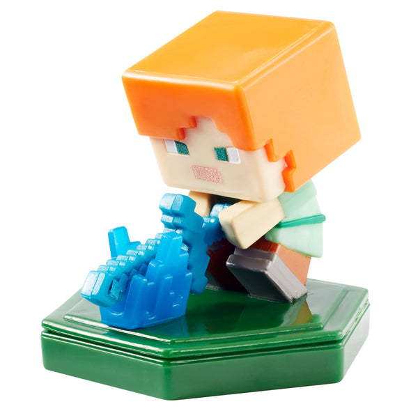 View 2 of Minecraft Earth Attacking Alex Boost Mini Figure photo.