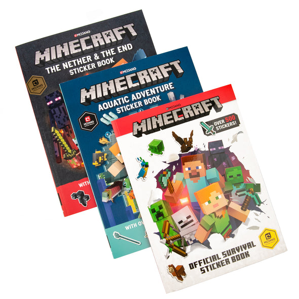 View 1 of Minecraft Official Sticker Book Collection photo.