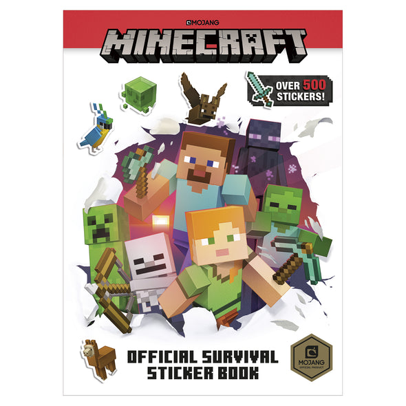 View 2 of Minecraft Official Sticker Book Collection photo.