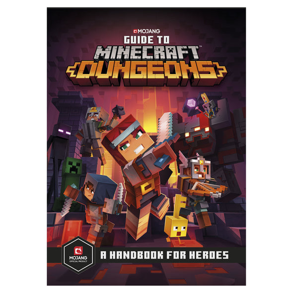 View 1 of Guide to Minecraft Dungeons: A Handbook for Heroes photo.