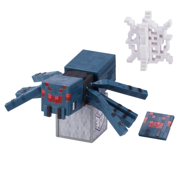 View 2 of Minecraft Cave Spider Comic Maker Action Figure photo.