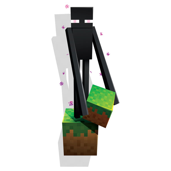 View 1 of Minecraft Enderman Wall Decal photo.