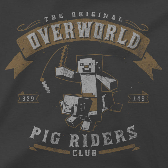 View 2 of Minecraft Pig Riders Women's Tee photo.