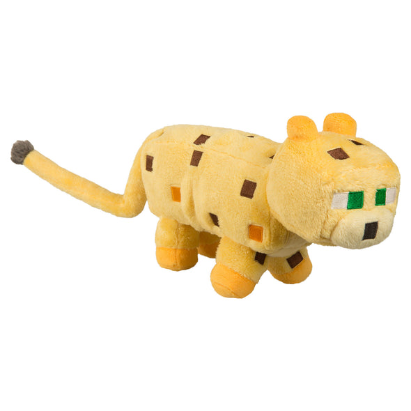 "View 1 of Minecraft 14"" Ocelot Plush photo."