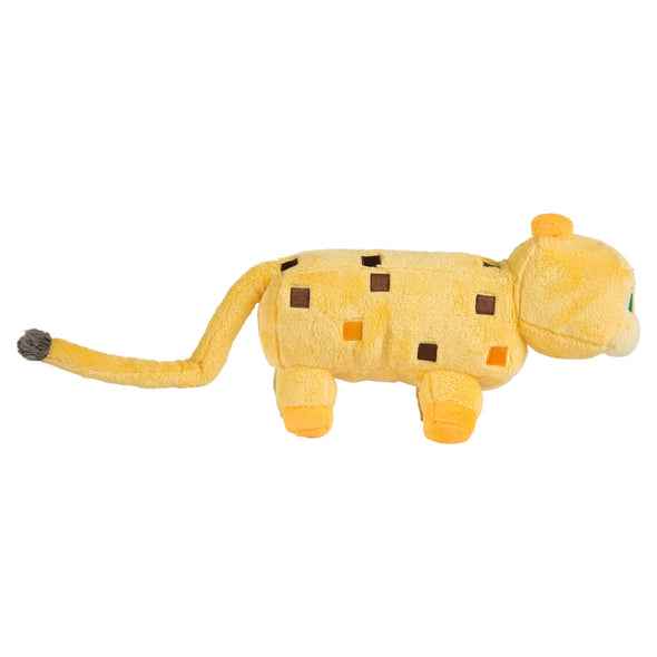 "View 2 of Minecraft 14"" Ocelot Plush photo."