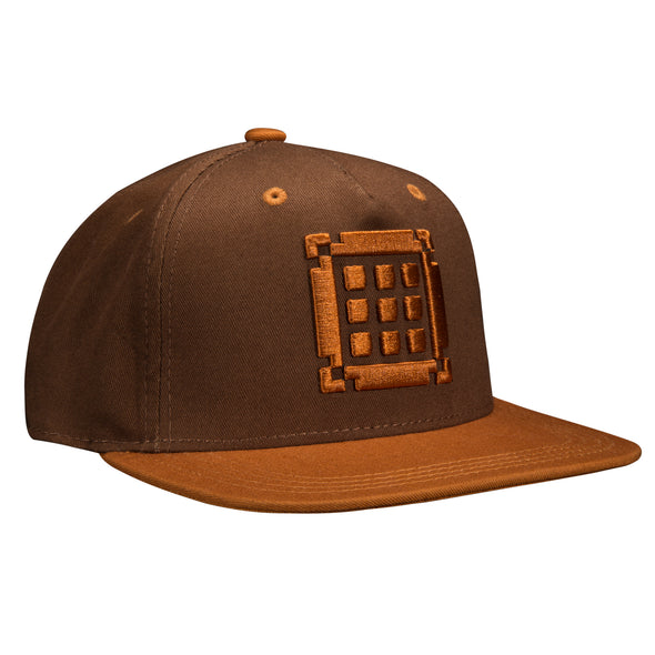 View 1 of Minecraft Crafting Table Youth Snap Back Hat photo.
