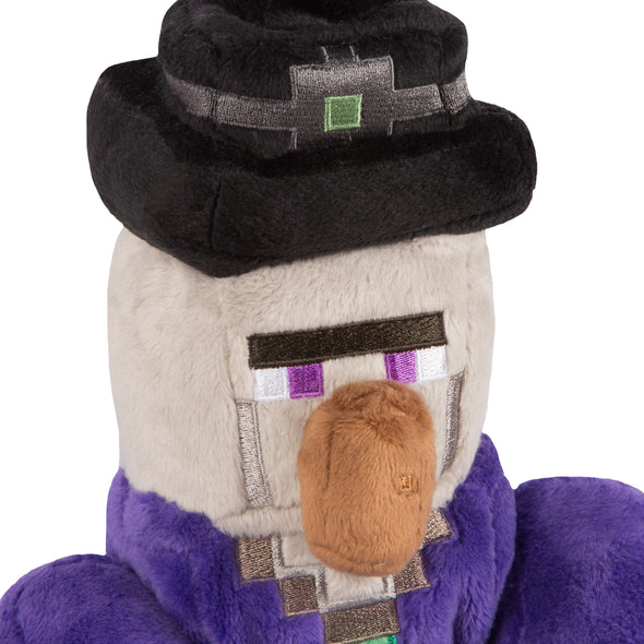 "View 2 of Minecraft 14"" Witch Plush photo."