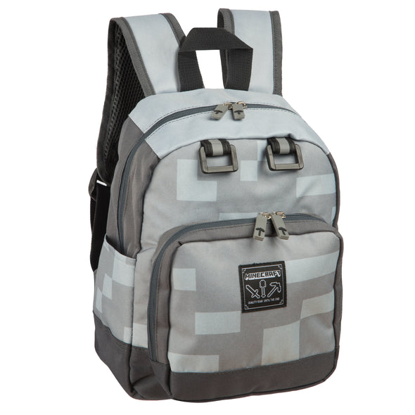 View 1 of Minecraft Miner Mini Backpack photo.
