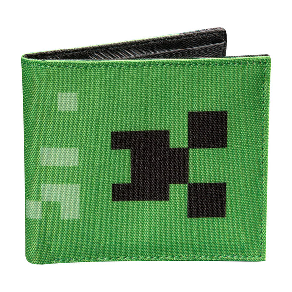 View 1 of Minecraft Creeper Bi-Fold Wallet photo.