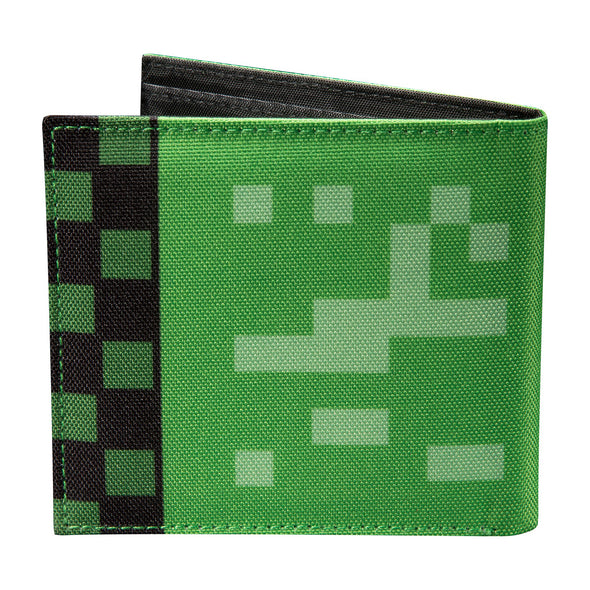 View 2 of Minecraft Creeper Bi-Fold Wallet photo.