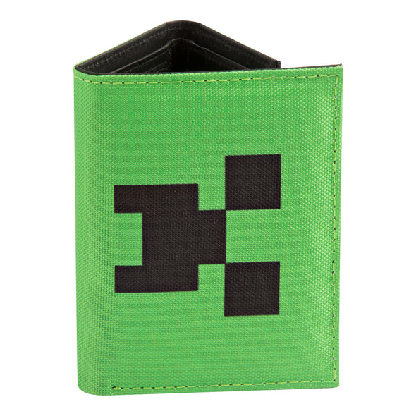View 1 of Minecraft Pocket Creeper Tri-fold Wallet photo.