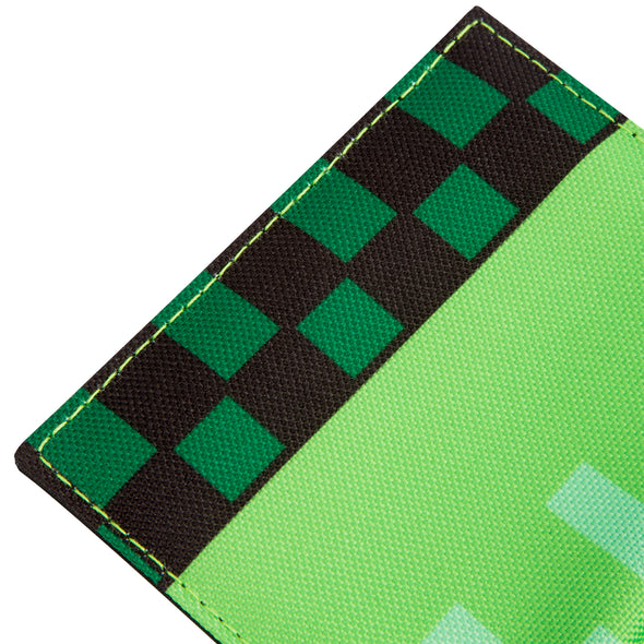 View 3 of Minecraft Pocket Creeper Tri-fold Wallet photo.
