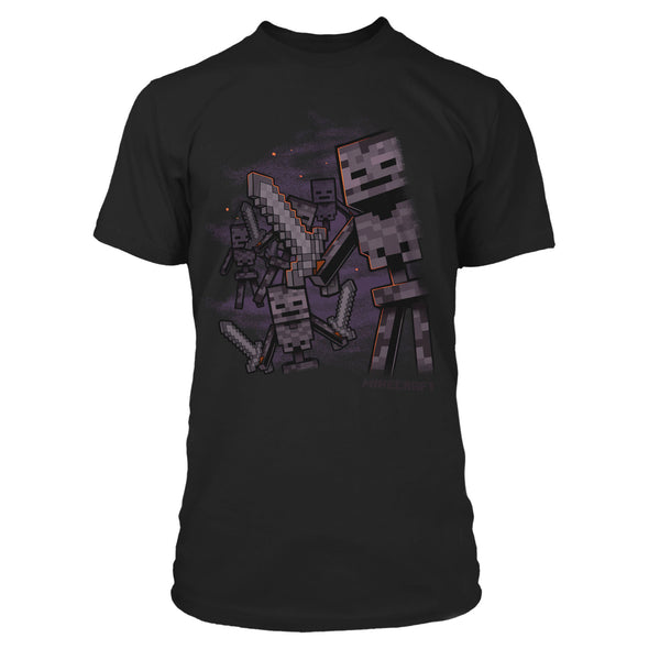 View 1 of Minecraft Wither Army Premium Tee photo.