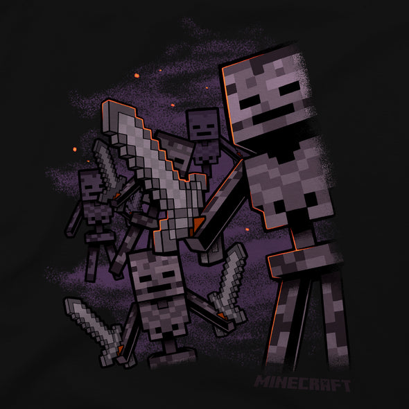 View 2 of Minecraft Wither Army Premium Tee photo.
