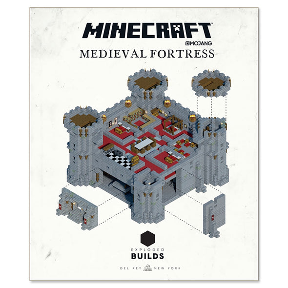 View 2 of Minecraft: Exploded Builds: Medieval Fortress photo.