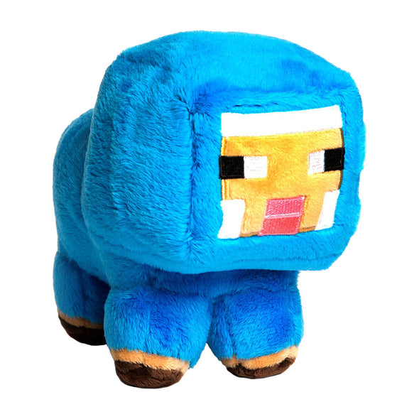 View 1 of Minecraft Small Baby Sheep Plush photo.
