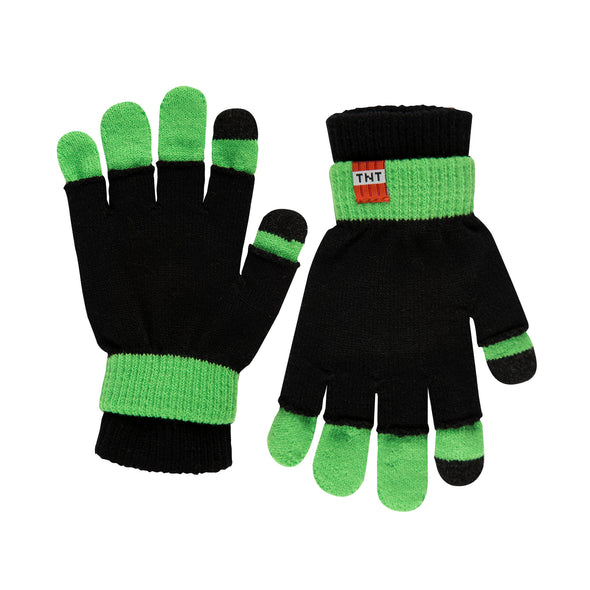 View 1 of Minecraft Creeper Magic Gloves photo.