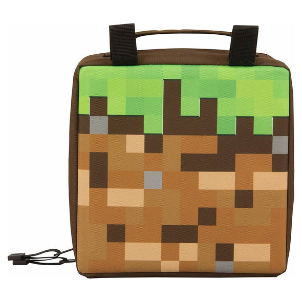 View 2 of Minecraft Dirt Block Lunch Box photo.