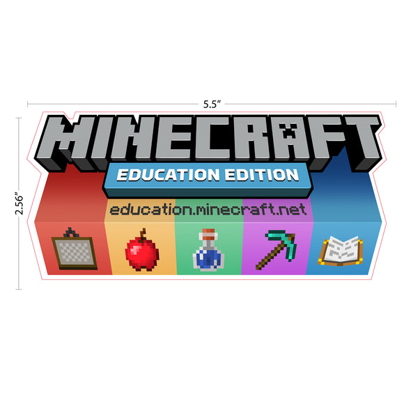 View 2 of Minecraft Education Edition Sticker (50 Pack) photo.