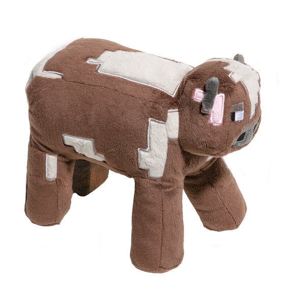 View 1 of Minecraft Adventure Cow Plush photo.