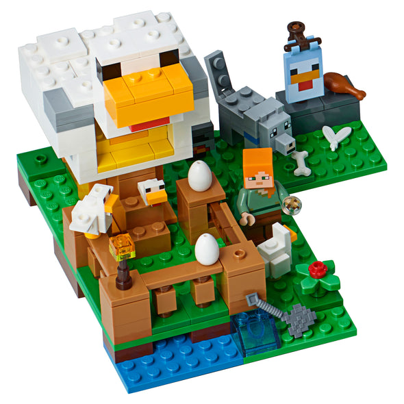 View 1 of Minecraft The Chicken Coop LEGO Building Set photo.