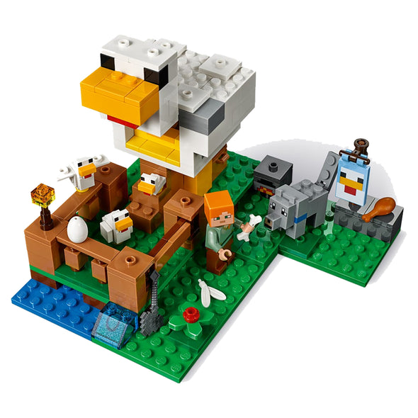 View 4 of Minecraft The Chicken Coop LEGO Building Set photo.