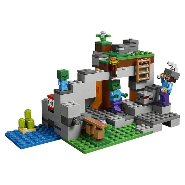 View 1 of Minecraft The Zombie Cave LEGO Building Set photo.
