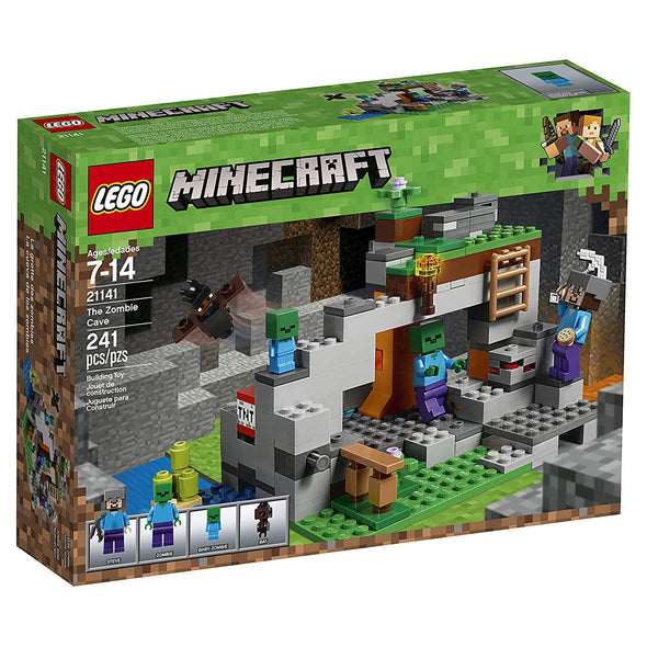 View 4 of Minecraft The Zombie Cave LEGO Building Set photo.