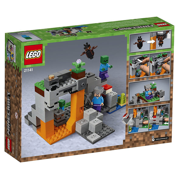 View 5 of Minecraft The Zombie Cave LEGO Building Set photo.