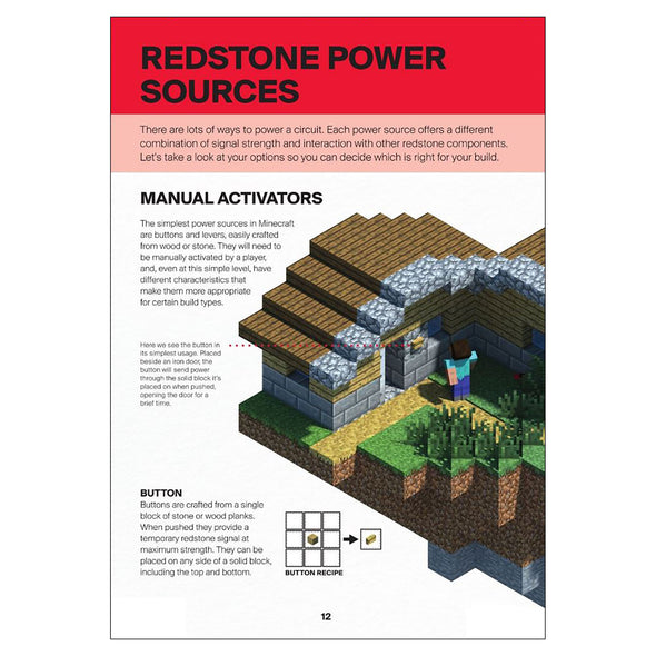 View 2 of Minecraft: Guide to Redstone Book photo.