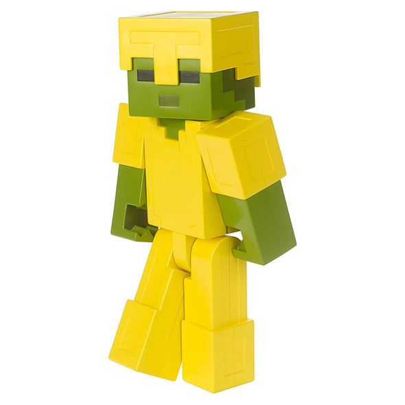 View 1 of Minecraft Armored Zombie Large Scale Action Figure photo.