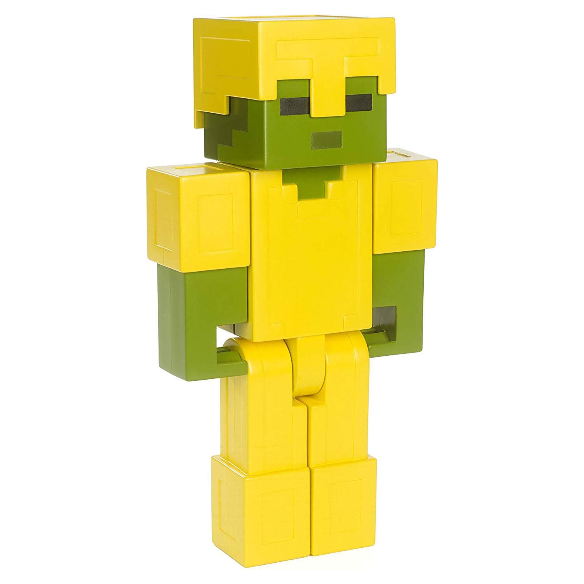 Minecraft Armored Zombie Large Scale Action Figure – Official