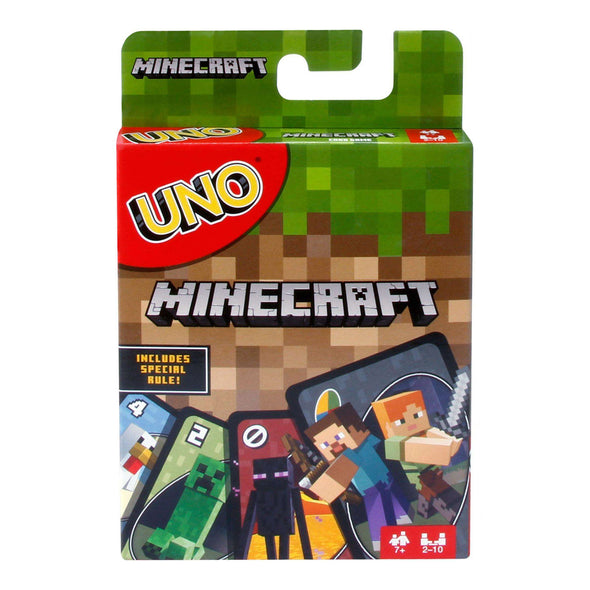 View 1 of Minecraft UNO Card Game photo.