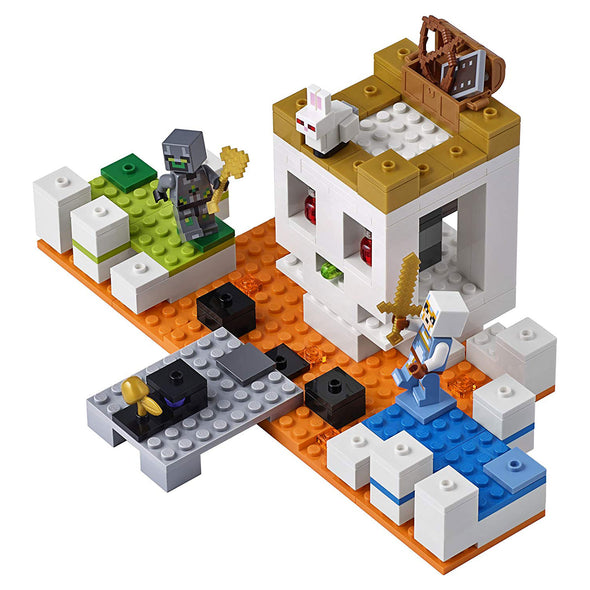 View 2 of Minecraft The Skull Arena LEGO Building Set photo.