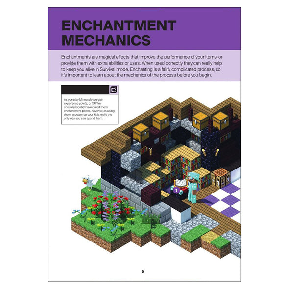 View 2 of Minecraft: Guide to Enchantments & Potions Book photo.
