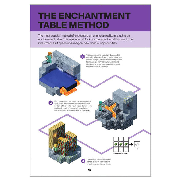 View 4 of Minecraft: Guide to Enchantments & Potions Book photo.