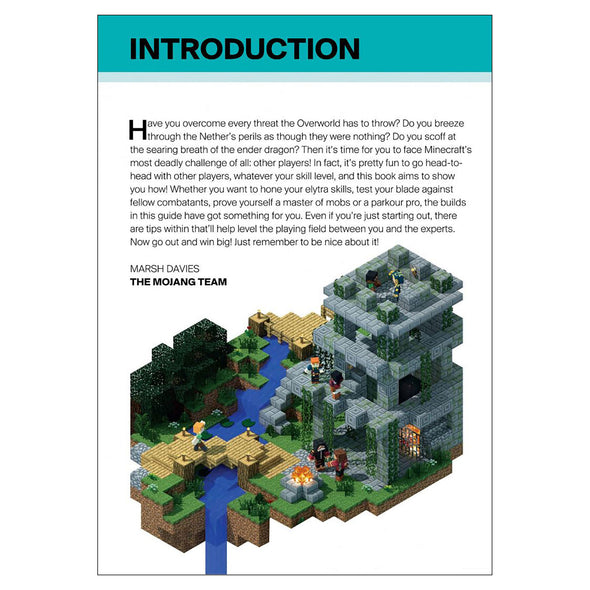 View 2 of Minecraft: Guide to PvP Minigames Book photo.