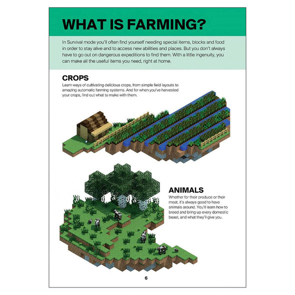 View 2 of Minecraft: Guide to Farming Book photo.